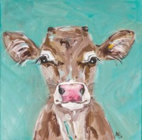 Pink Nosed Cow Fine Art Print
