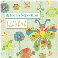 Favorite People Grandma Fine Art Print