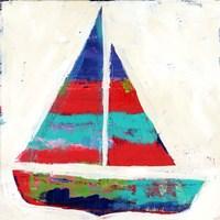 Sailboat Stripe Fine Art Print
