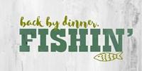 Fishing Dinner Fine Art Print