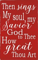 How Great Thou Are Fine Art Print