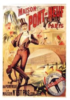"Maison Du Pont Neuf by Clemente Micarelli - 4"" x 6"", FulcrumGallery.com brand"