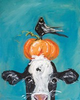 Cow and Friends Fine Art Print