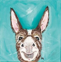 Mr. Donkey Fine Art Print