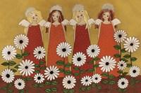 Angels Ana Daisies Fine Art Print