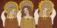 Angels And Sunflowers Fine Art Print