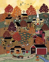 Autumn In Vermont Fine Art Print