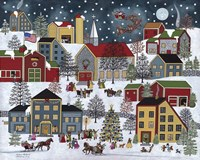 Christmas Eve Fine Art Print