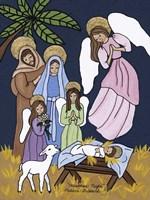 Christmas Night Fine Art Print