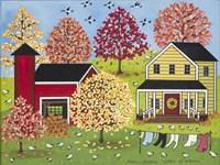 Colors Of Autumn Fine Art Print