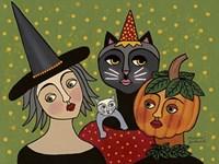 Fall Friends Fine Art Print