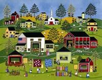 Farmers Market Fine Art Print