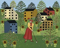 Golf Gal Fine Art Print