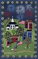 Happy 4Th Of July Fine Art Print