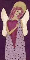 Purple Angel Fine Art Print