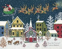 Snow For Christmas Fine Art Print