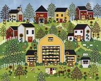 The Chicken Barn Fine Art Print