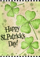St. Patrick's Day Clover Fine Art Print