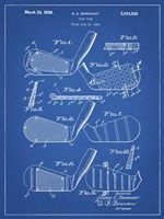 Golf Club Patent - Blueprint Fine Art Print