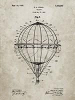 Balloon Patent - Sandstone Fine Art Print
