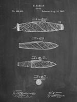 Cigar Patent - Chalkboard Fine Art Print