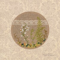 Frolic in the Forest - Stitchery Fine Art Print