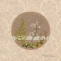 Meet Me in the Woods - Stitchery Fine Art Print