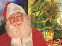 Real Santa Fine Art Print