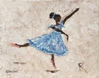 Dancer in Blue Fine Art Print