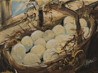 Egg Basket Fine Art Print