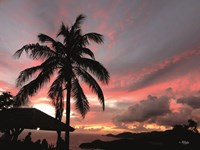Antigua Sunset I Fine Art Print