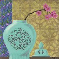 Jade-Ginger Jar Fine Art Print