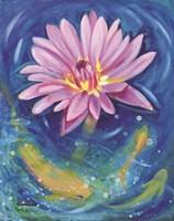 Waterlily Frenzy Fine Art Print