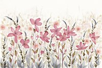 Watercolor Garden Light Fine Art Print