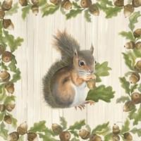 Woodland Critter I Fine Art Print