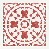 Hacienda Tile I Fine Art Print