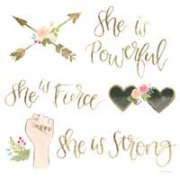 Girl Power IV Fine Art Print