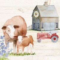 Life on the Farm I Fine Art Print