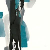 Black and Teal II Fine Art Print