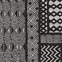 Kuba Abstract II BW Framed Print