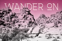 Ombre Adventure IV Wander On Framed Print