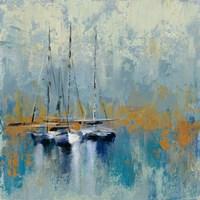 Boats in the Harbor III Fine Art Print