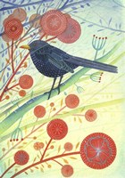 Blackbird 1 Fine Art Print