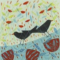 Blackbirds Fine Art Print