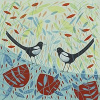 Magpies Fine Art Print
