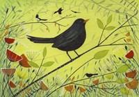 Spring Blackbird 2 Fine Art Print