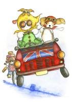 Minnie Driver Fine Art Print