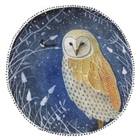 The Owl & The Magpie Fine Art Print