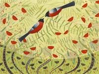 Bullfinches Fine Art Print