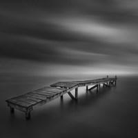 Lonely Dock Fine Art Print